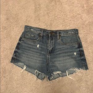 BlankNYC distressed jean short